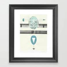 Egg Framed Art Print