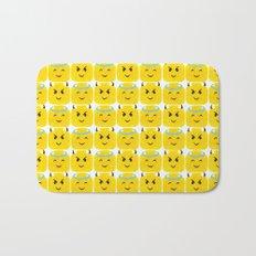 Emoji Minifigure Angel Devil Bath Mat