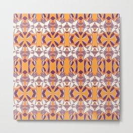 Summer Colors Pattern 2 Metal Print
