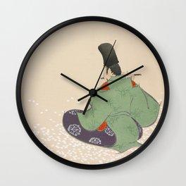 Kamisaka Sekka - Flute player from Momoyogusa Wall Clock