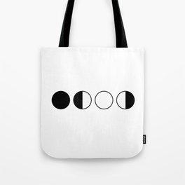 Moon Cycle Tote Bag