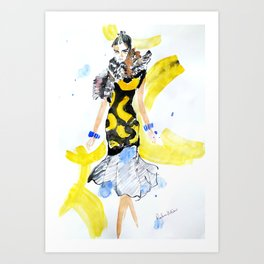 Fashion Celine Art Print