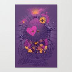 Walker Of the Darkness Canvas Print