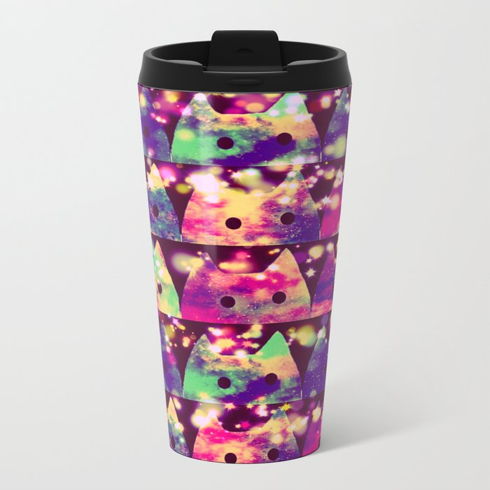 gorgeous cats-4 Metal Travel Mug