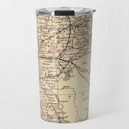 Old Map of Germany Travel Mug