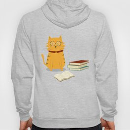 Nerdy Cat Hoody