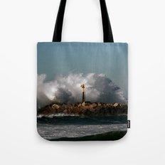 Blast Wave Tote Bag