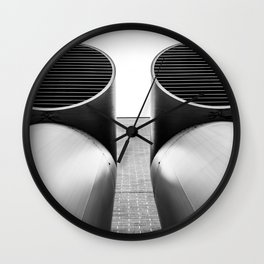Air - Duct - Pipe Wall Clock