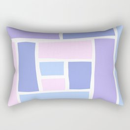 Lilac Mozaic Rectangular Pillow