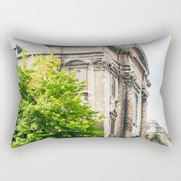 old street in Brussels Rectangular Pillow