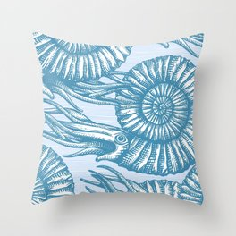 AMMONITE COLLECTION Throw Pillow