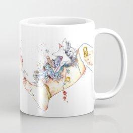 "Original illustration-""Legs City "" Coffee Mug"