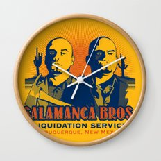 Salamanca Brothers Wall Clock