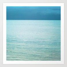 Softly the Sea Art Print