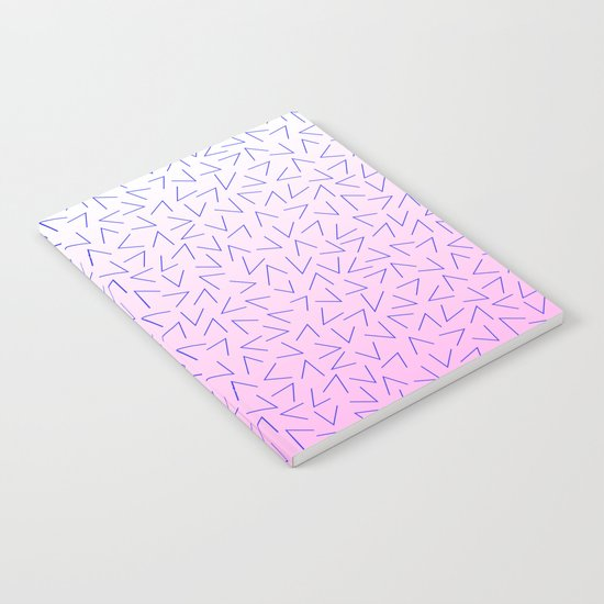 80's Pattern Gradient Notebook