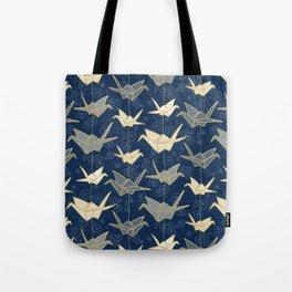 Sadako's Good Luck Cranes Tote Bag