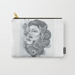 Rosy Lady Carry-All Pouch