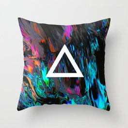 Saz Throw Pillow