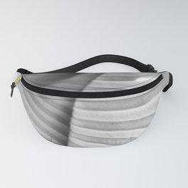 abstract pleats Fanny Pack