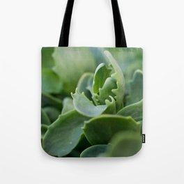 Close Up Plant Tote Bag
