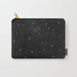 Whispers in the Galaxy-B&W Carry-All Pouch