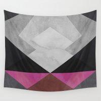 diamond Wall Tapestries featuring Diamond by Georgiana Paraschiv