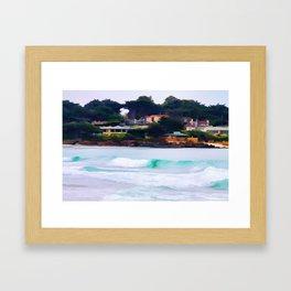 Carmel By The Sea Framed Art Print
