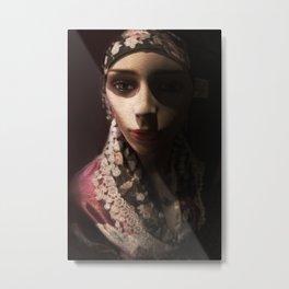 Madame Rose Metal Print