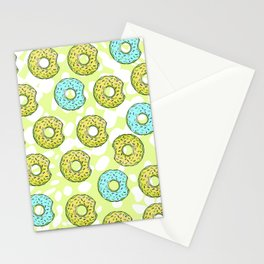 DONUTS AND DOTS DELICOUS DELIGHT Stationery Cards