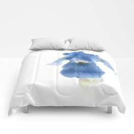 Blue Iris Inversion Comforters