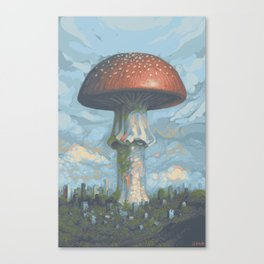 Nature FTW Canvas Print