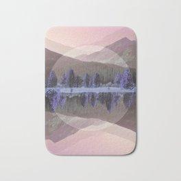 Mountain Mirror Bath Mat