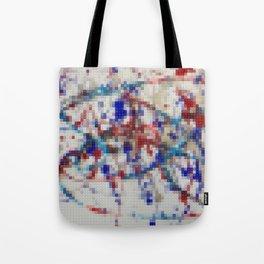 Lego: Jackson Pollock 2 Tote Bag