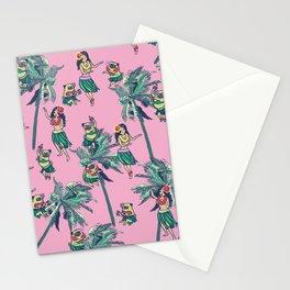 Hawaii Hula with The Pug Stationery Cards