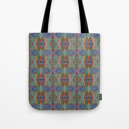 Rainy Sunday on High Ground Tote Bag