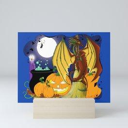 Samhain Dragon Mini Art Print