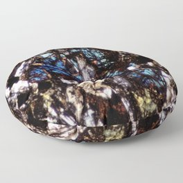 Pyroxene and Feldspar Floor Pillow