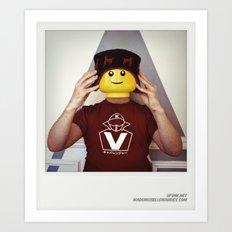 Minifig me ! – Everyone has a LEGO piece inside - 8 Art Print