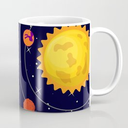 Cat Me Universe Coffee Mug