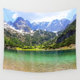 Mountain landscape. Wall Tapestry