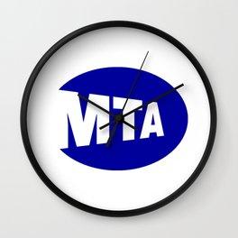 MTA Wall Clock