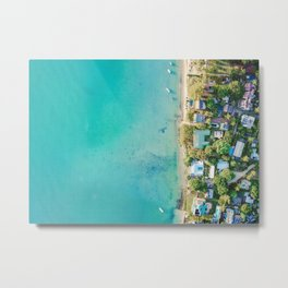 Summer Club Metal Print