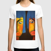 twins T-shirts featuring Twins by Shahadjef
