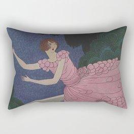 Vintage Magazine Cover - The Ball Rectangular Pillow