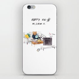 Valentine's Card iPhone Skin