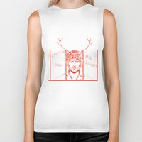 will graham Biker Tanks featuring Save Will Graham by Meloniade