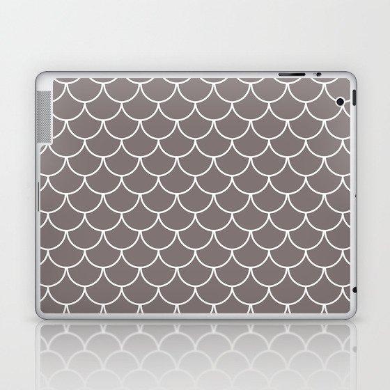 Warm Gray Scales Laptop & iPad Skin