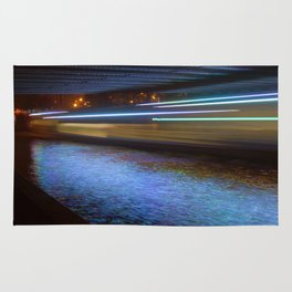 Into the Berlin Blue Night Rug