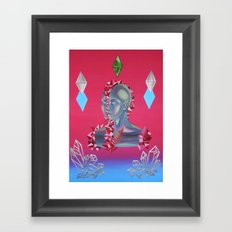 Crystallization Framed Art Print