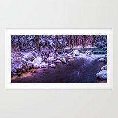 winter's tale II Art Print
